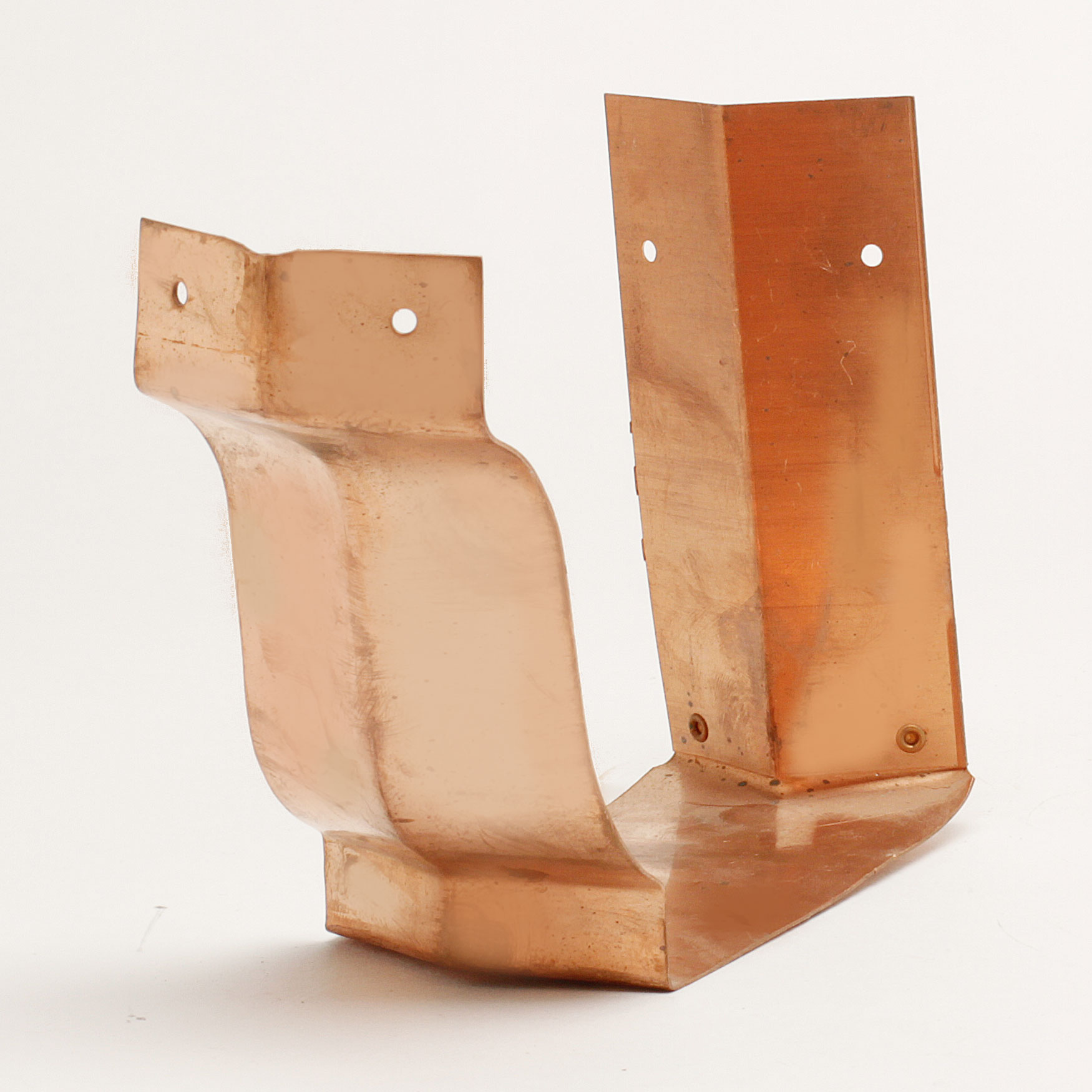 "6"" Outside Bay Strip Miters ""K"" Style - Copper"