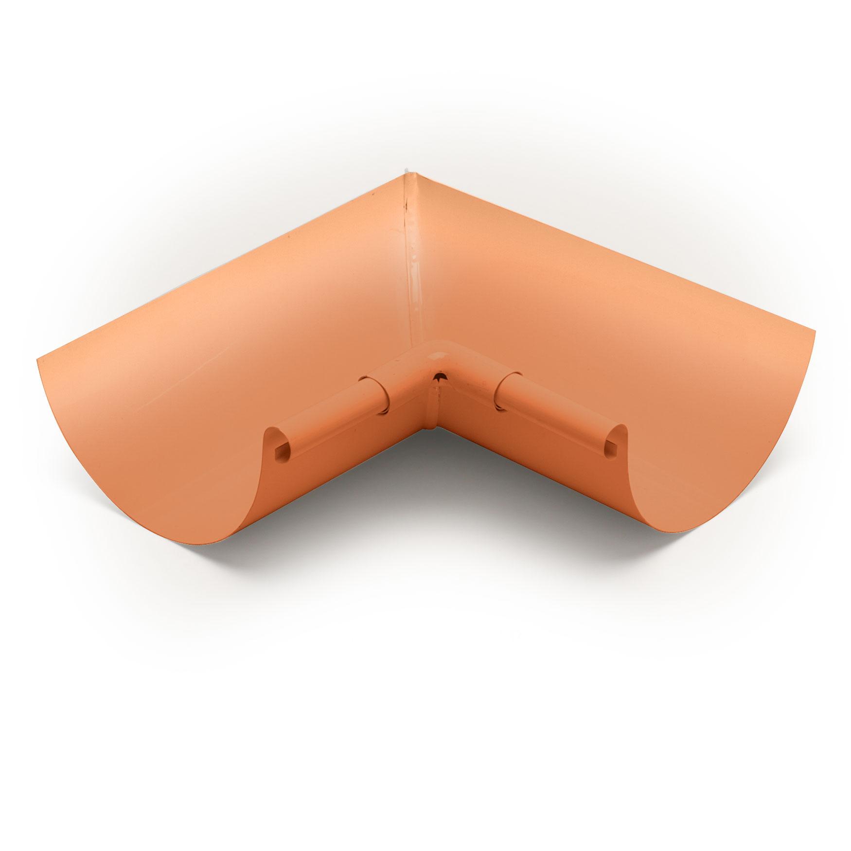 "5"" Inside Box Miters Half Round - Copper"