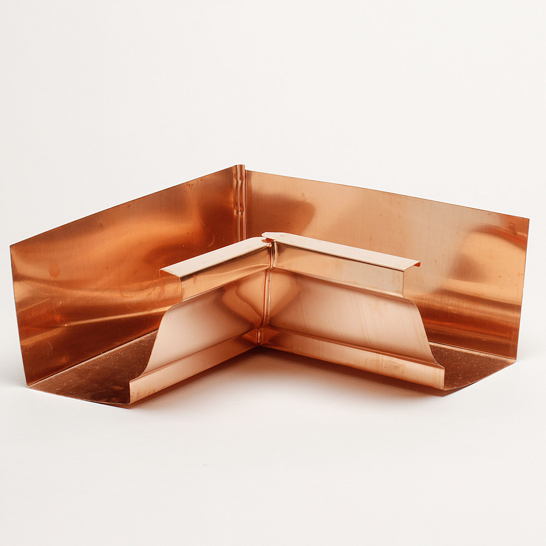 "5"" Inside Box Miters ""K"" Style - Copper"