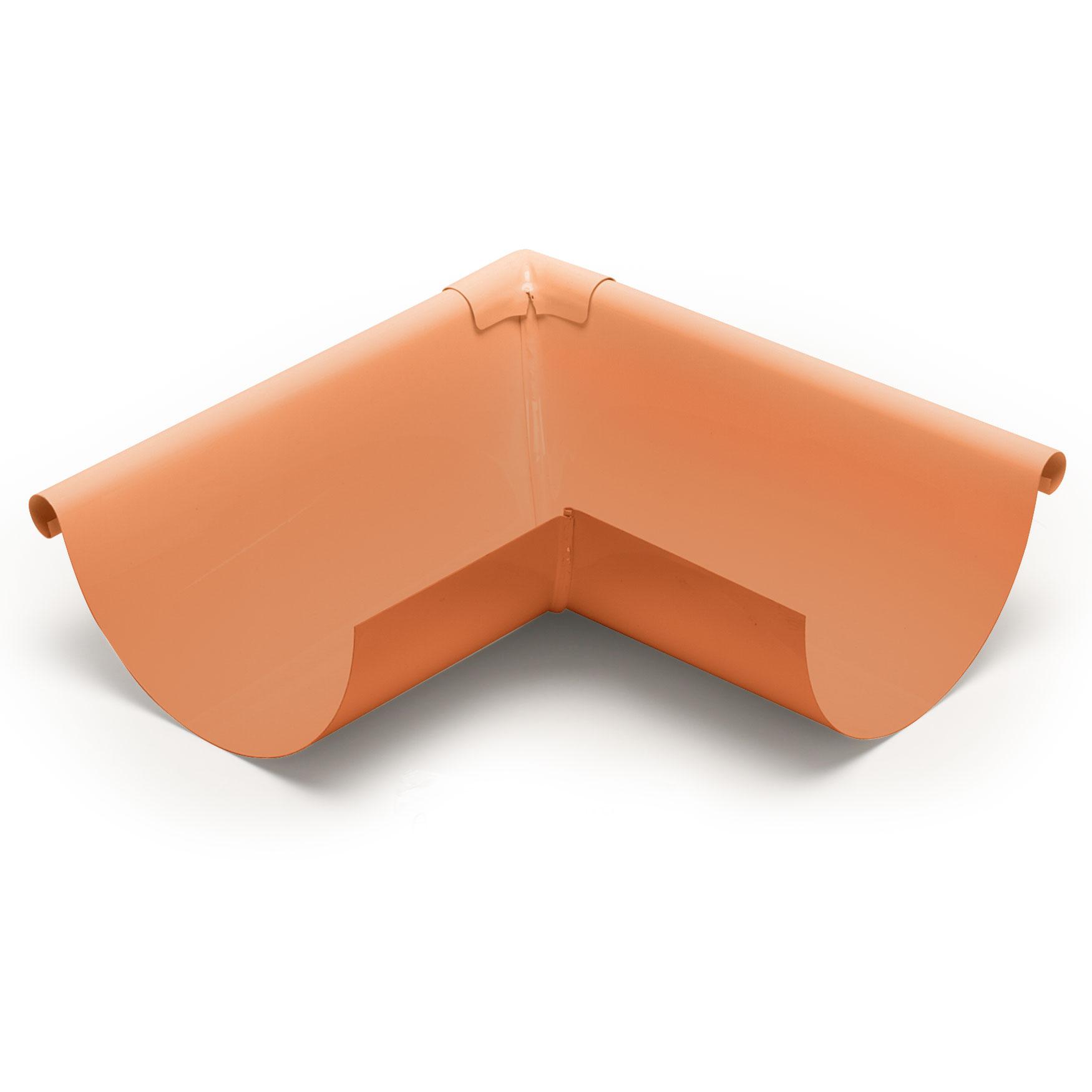 """5"""" Outside Box Miters Half Round - Copper"""