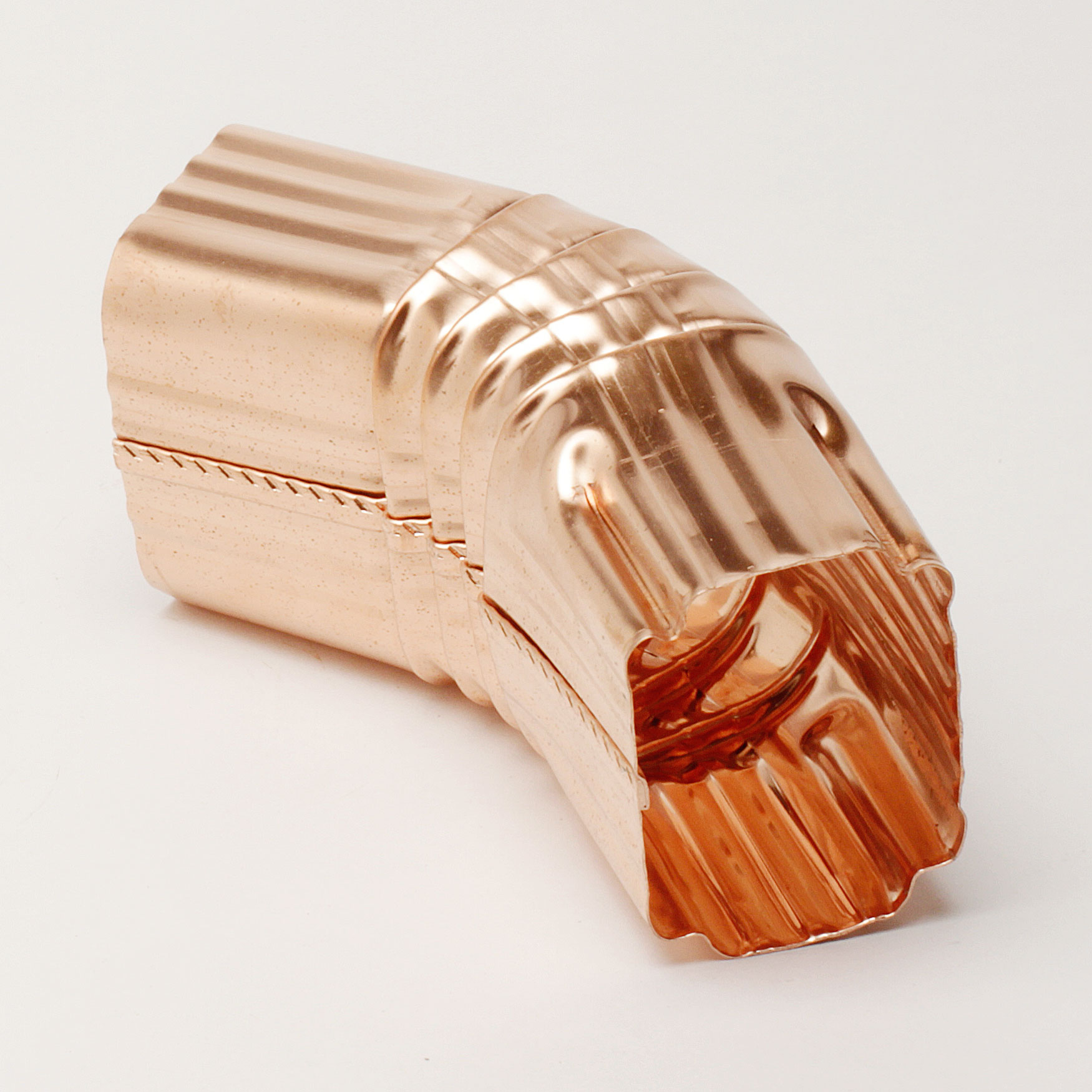 """2""""x 3"""" 22 ½ Degree """"A"""" Style Elbows - Copper"""