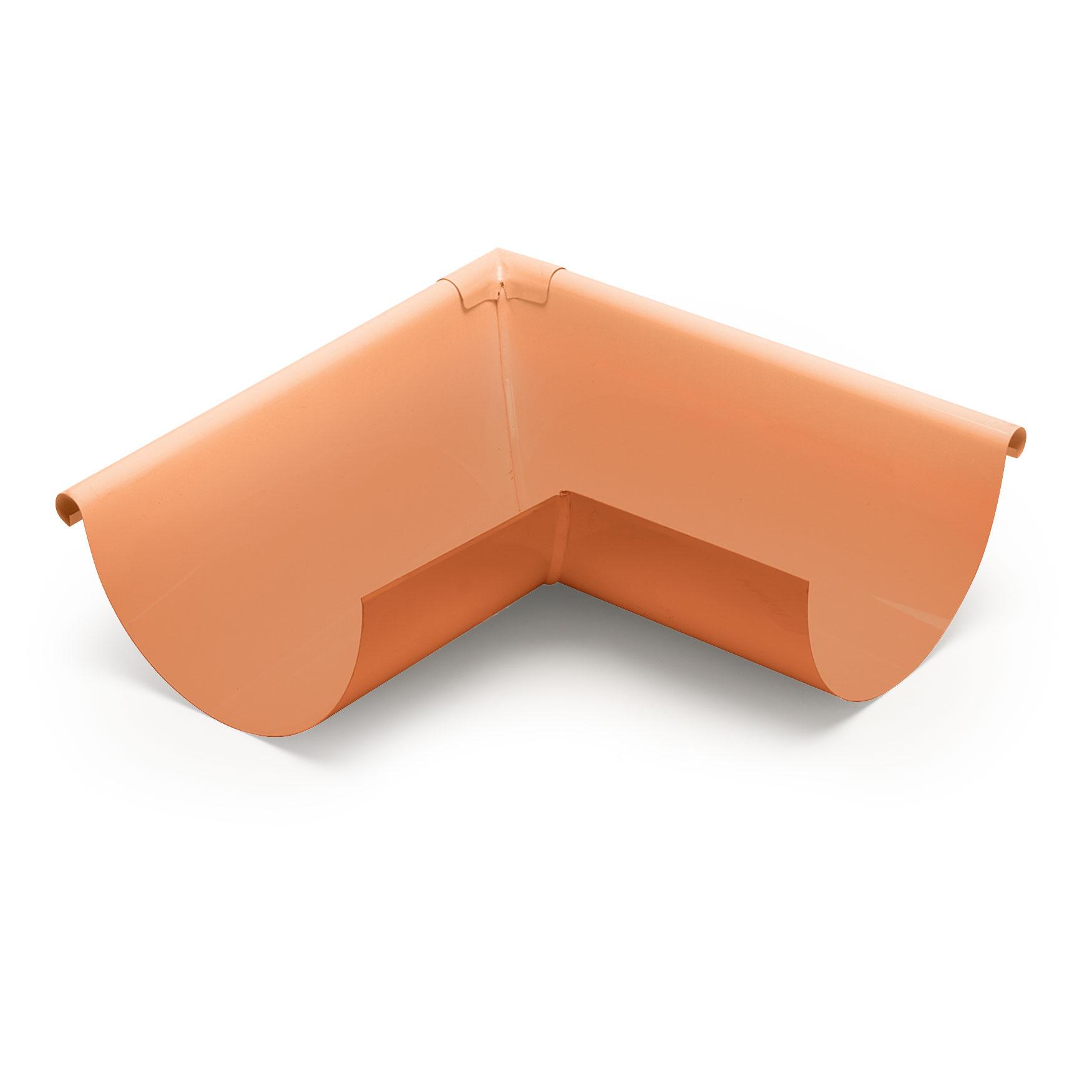 """6"""" Outside Box Miters Half Round - Copper"""