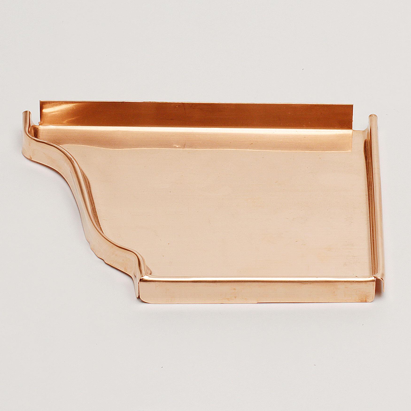 "6"" Right End Cap ""K"" Style – Copper"
