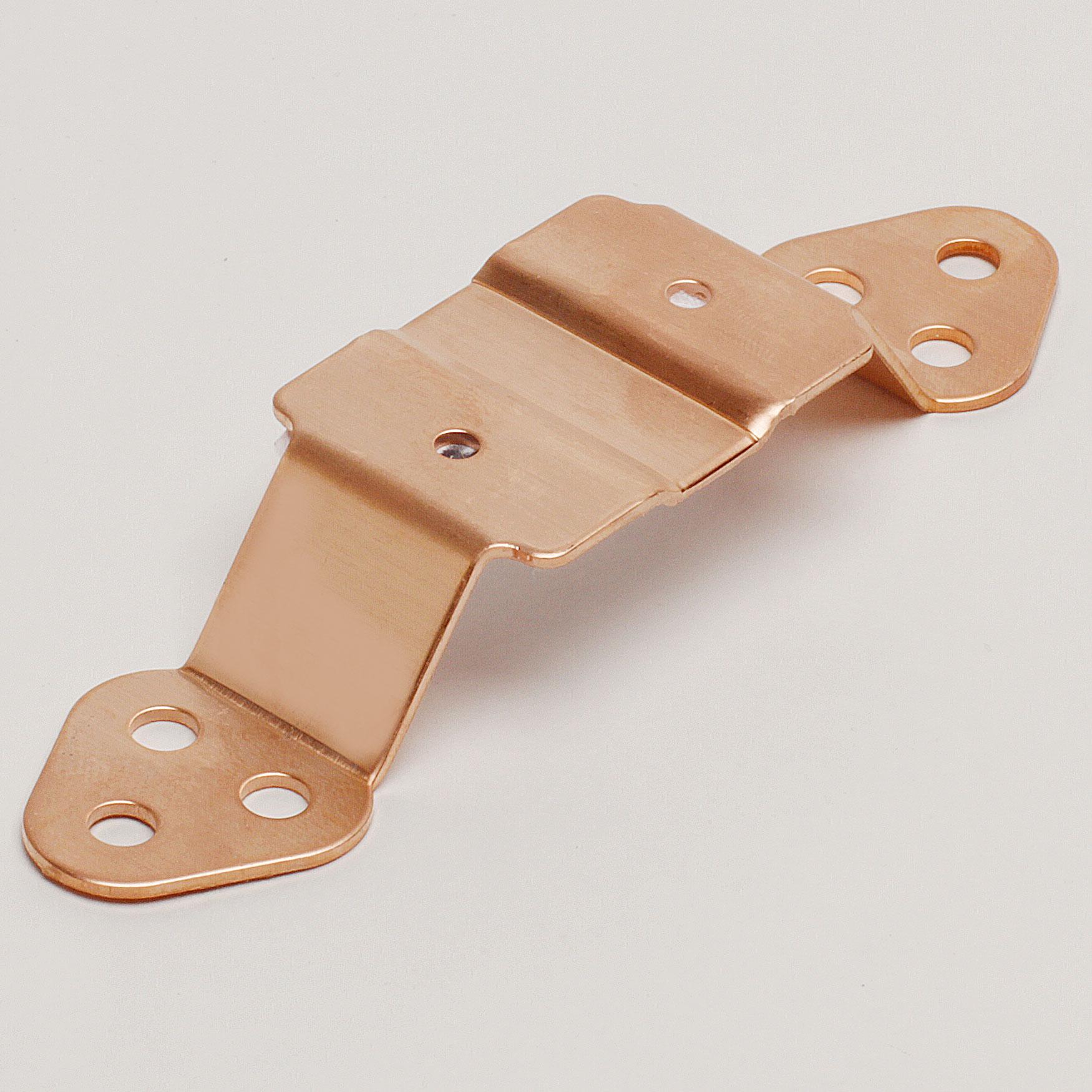 "3"" Pipe Cleat – Copper"