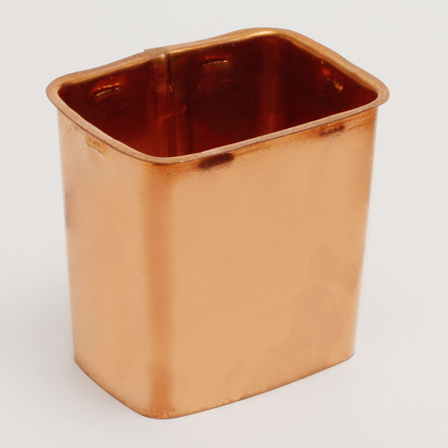 """2""""x 3"""" Rectangular Outlet """"K"""" Style - Copper"""