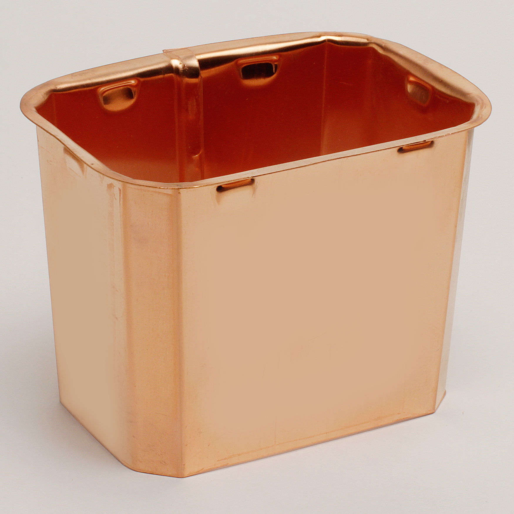 """3""""x 4"""" Rectangular Outlet """"K"""" Style - Copper"""