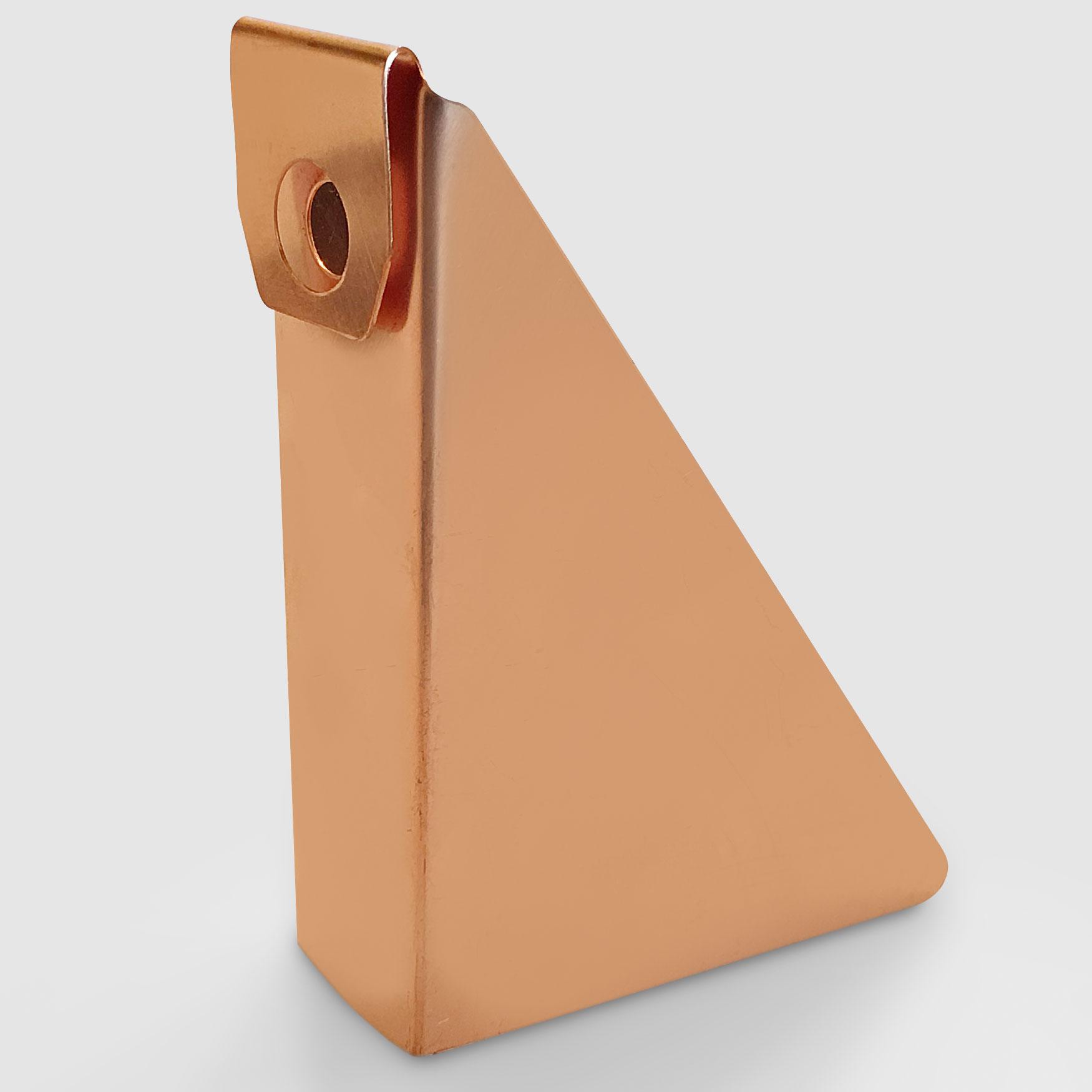 "5"" Steep Gutter Wedge  – Copper"
