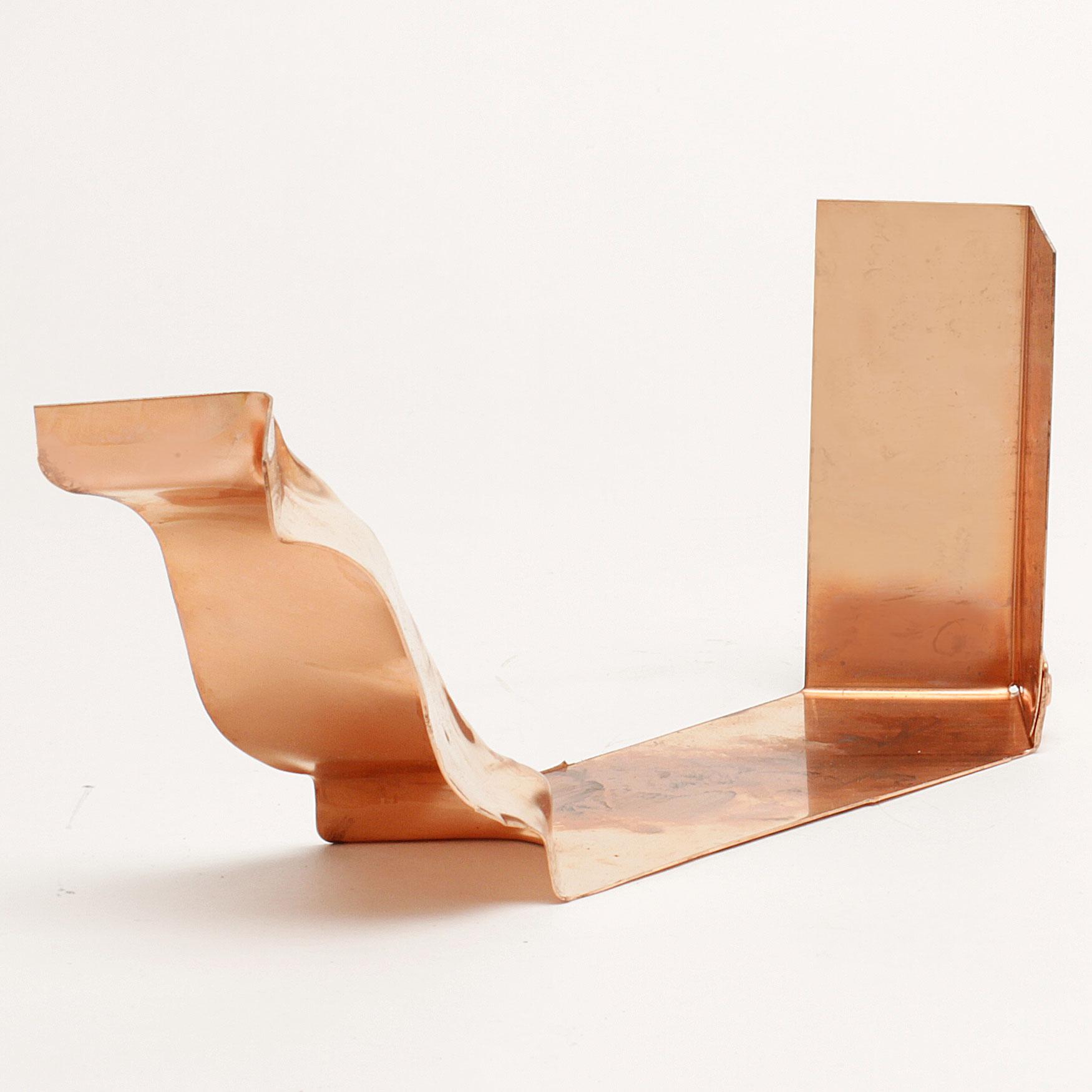 "5"" Strip Miter Inside ""K"" Style – Copper"