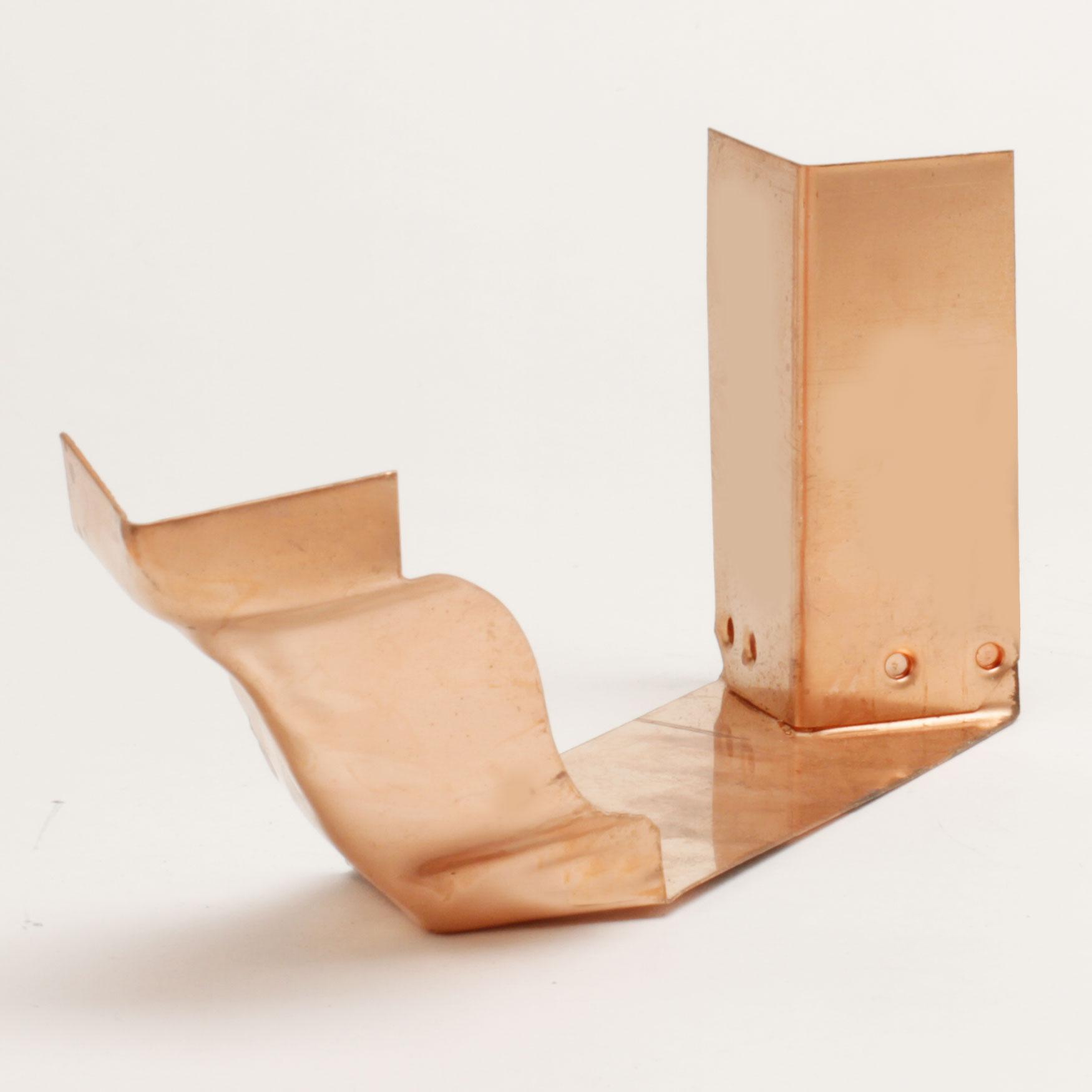 "5"" Strip Miter Outside ""K"" Style – Copper"