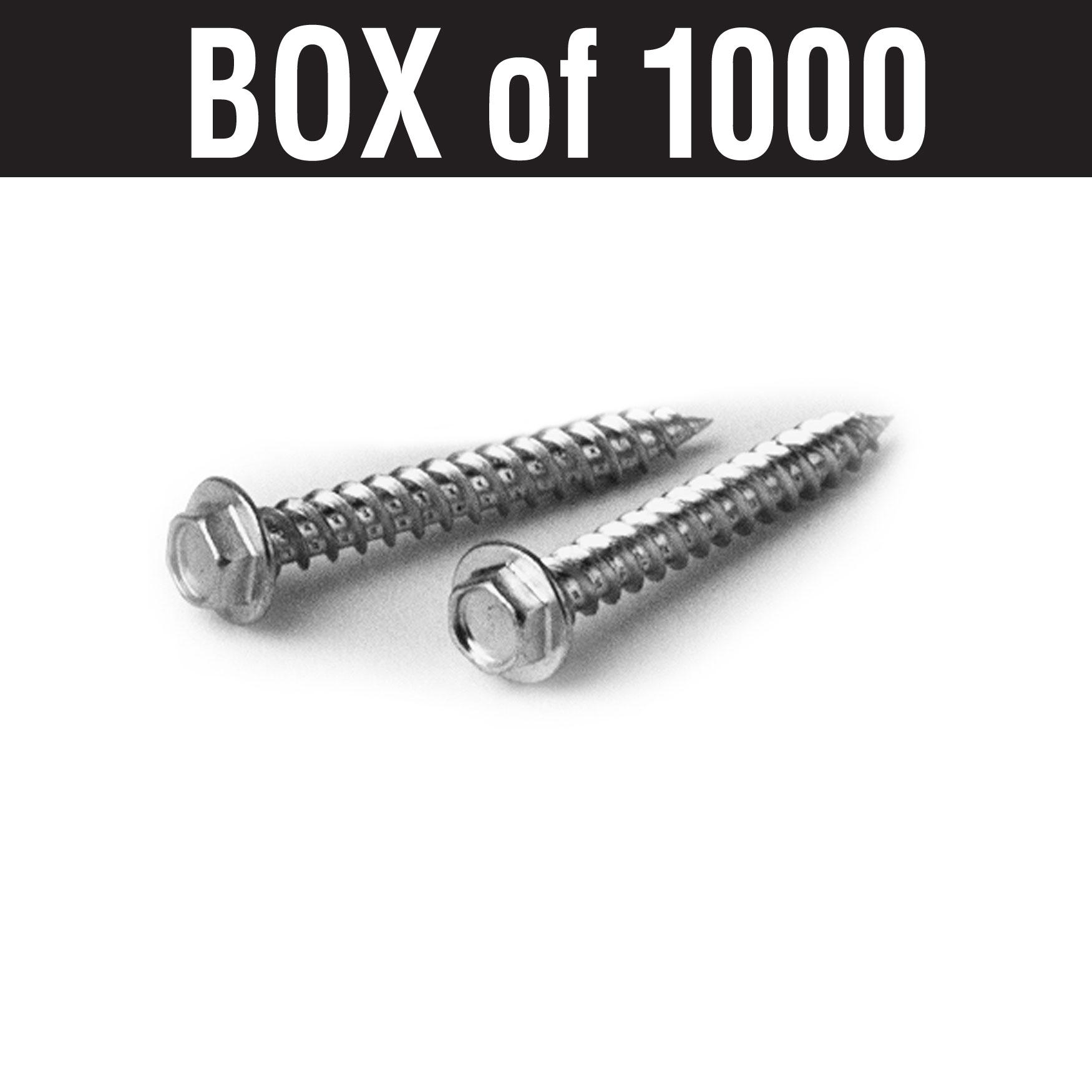 "#10 Woodgrip Screws – 3"""