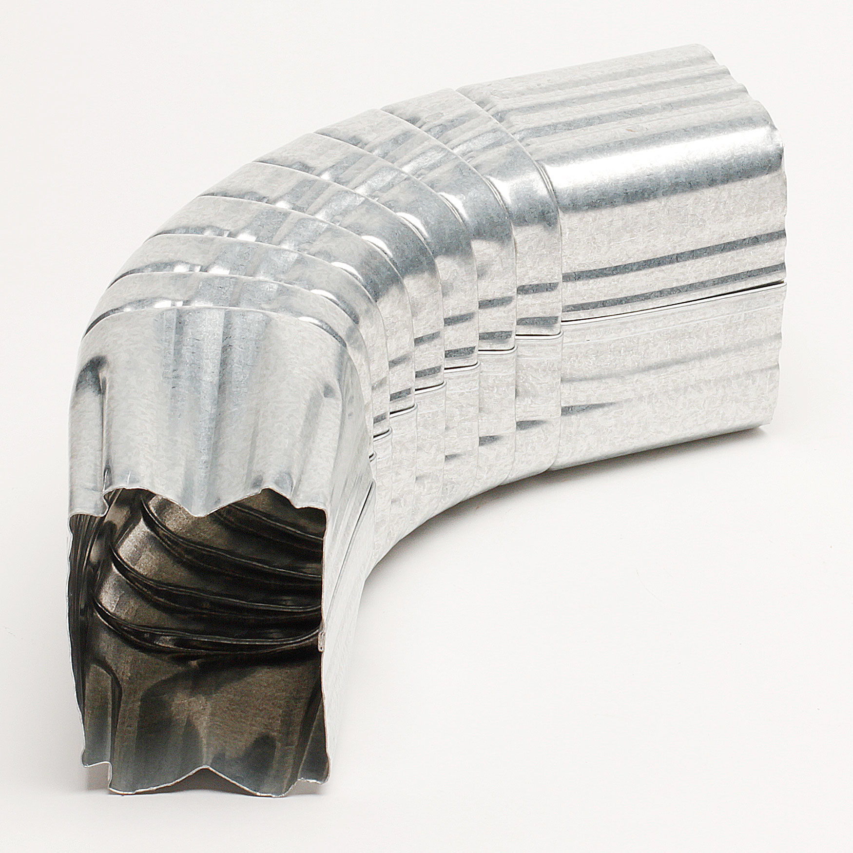 "3"" x 4"" Galvanized Elbow – ""A"" Style"