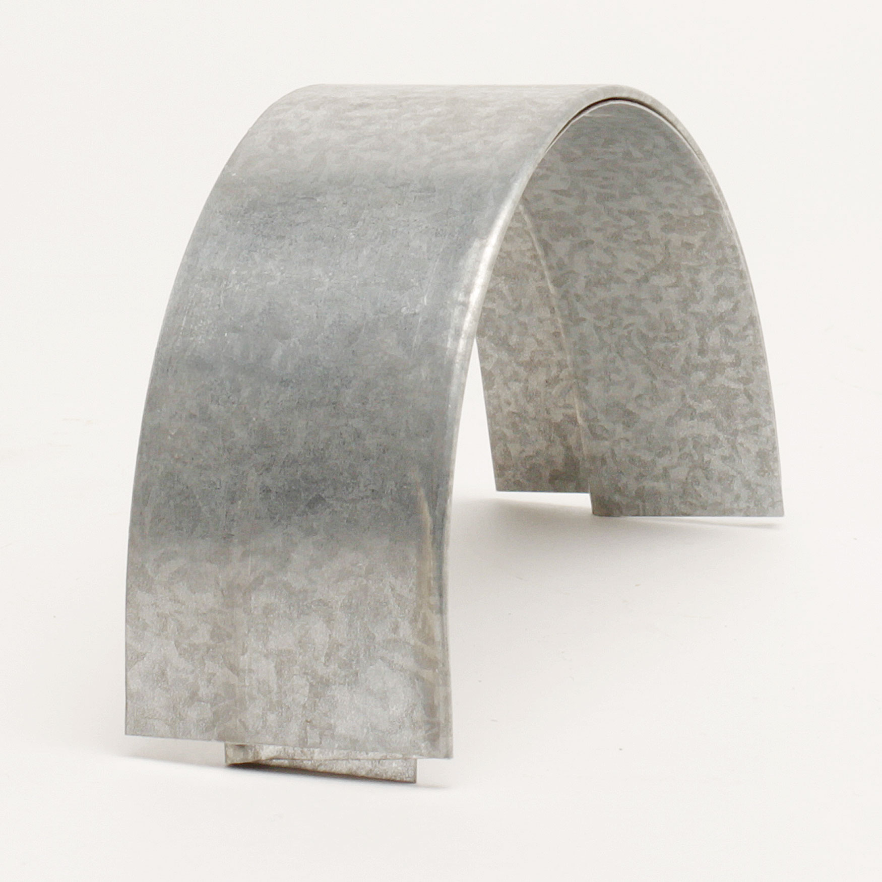 """5"""" Half Round Slip Joint Connector – Galvanized"""