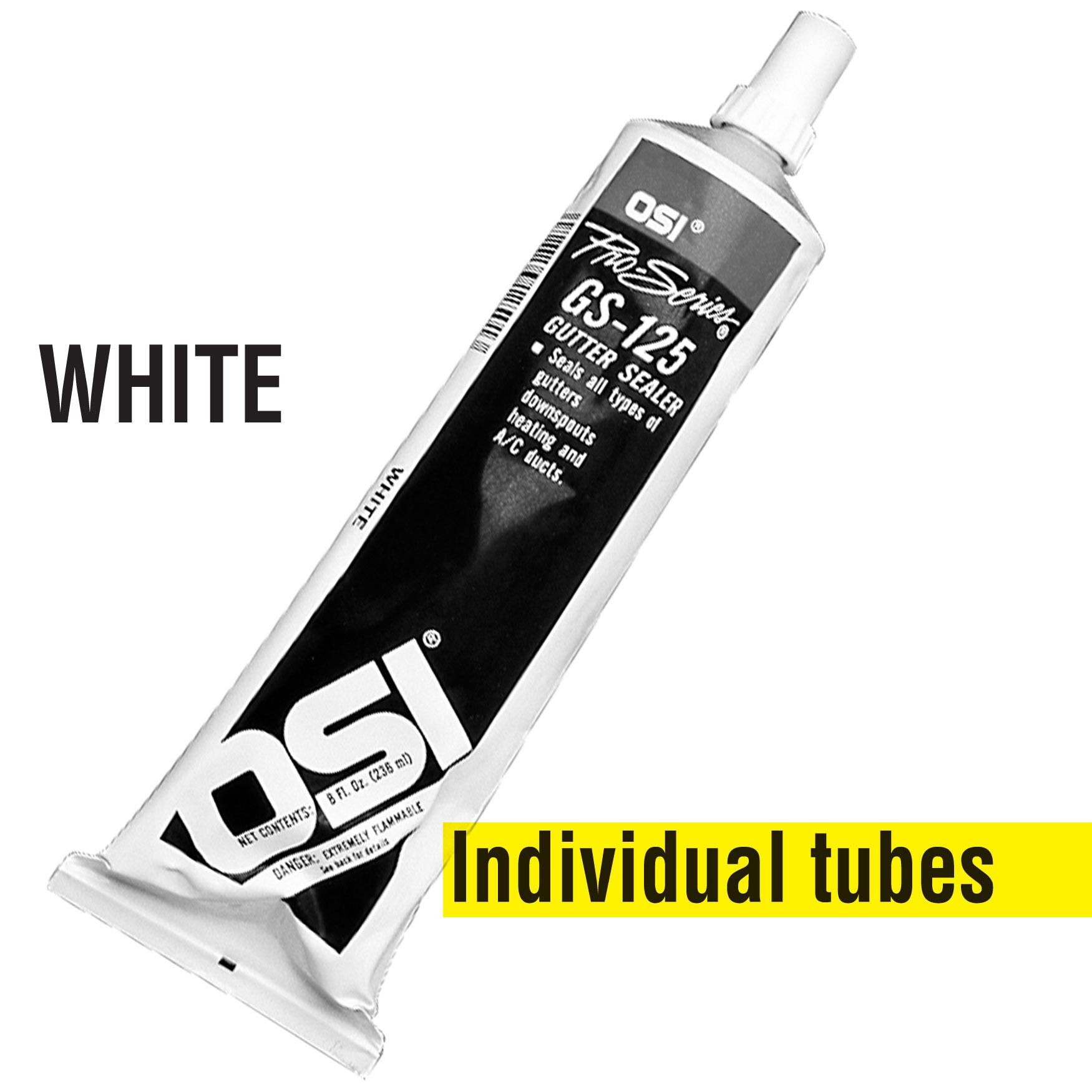 OSI Gutter Sealant – White (Individual)