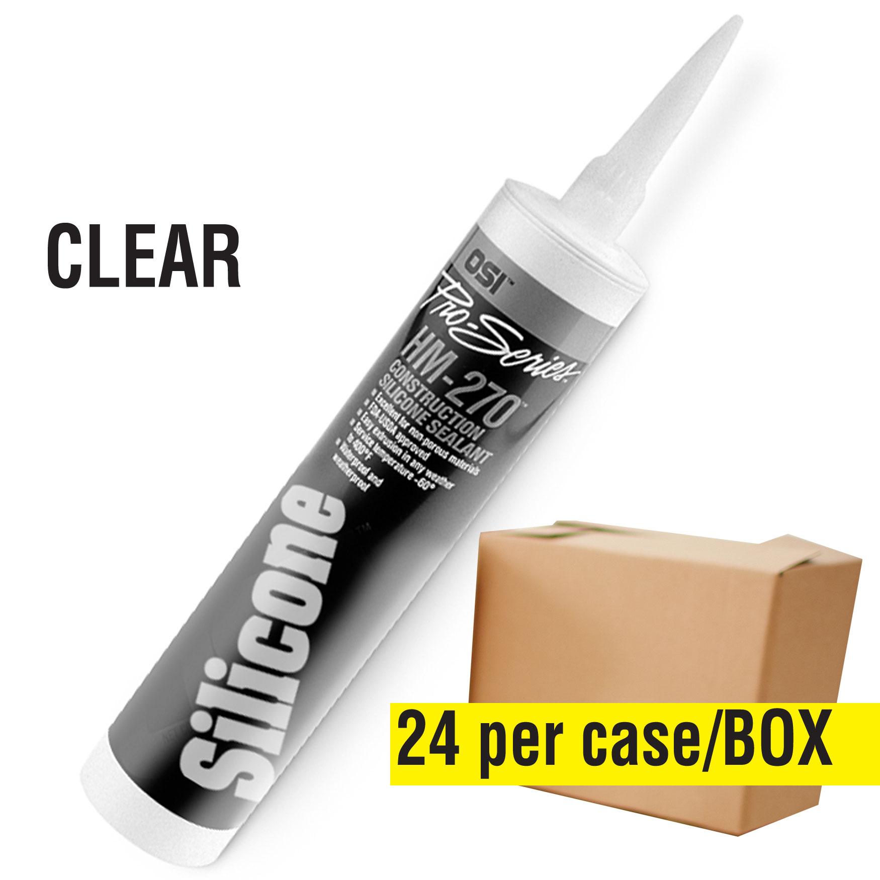 Silicone Sealant - Clear