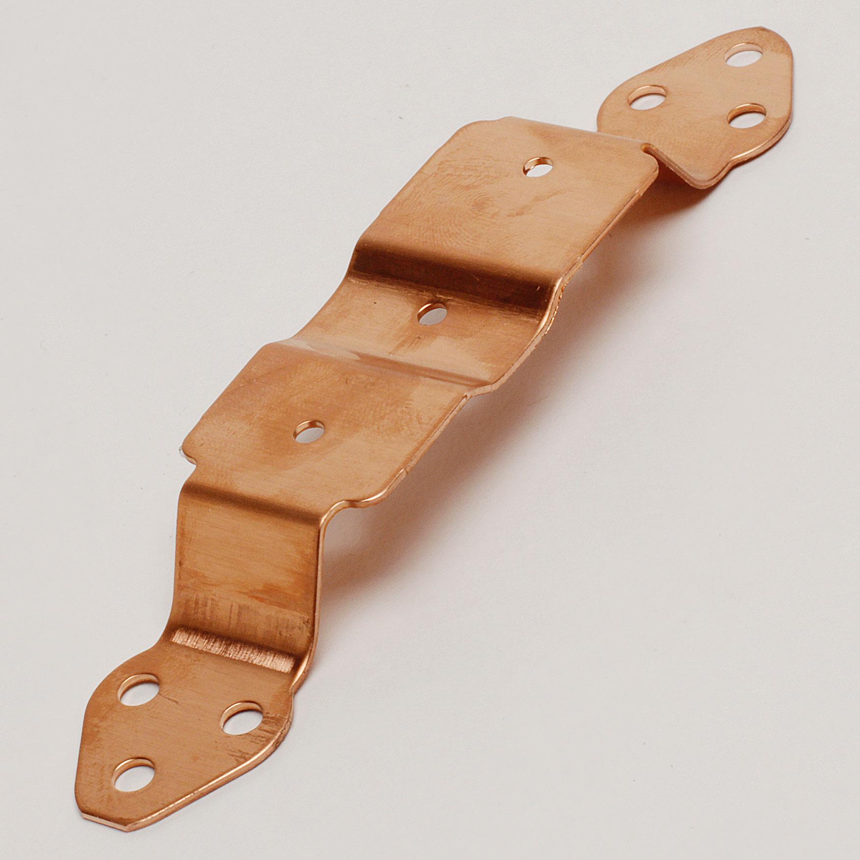 "4"" Pipe Cleat – Copper"